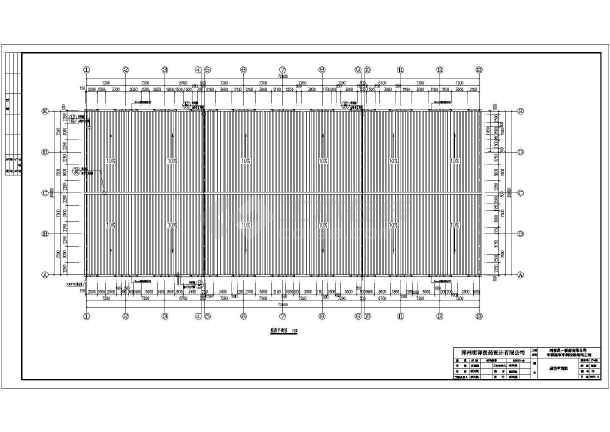 河南某中药提取车间单层轻钢结构厂房施工图纸