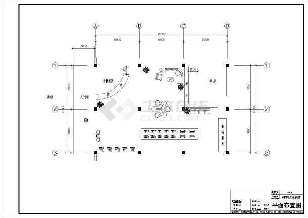 apple专卖店吊顶及平面设计方案图图片