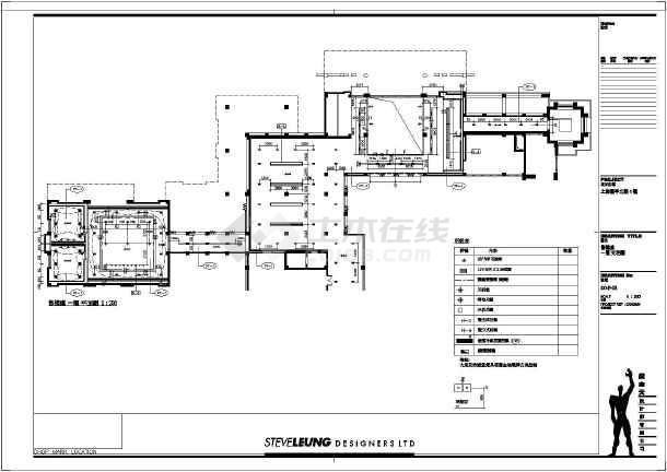 某地复式楼建筑室内装饰设计施工图_cad图纸下载-土木