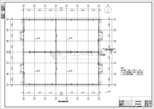 图纸 电气图纸  工业建筑(厂房电气图纸)  仓库库房建筑电气设计施工