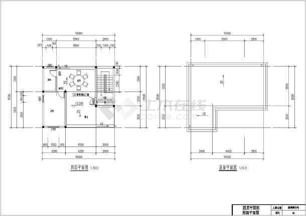 江西某地砖混结构农村自建房建筑设计施工图纸