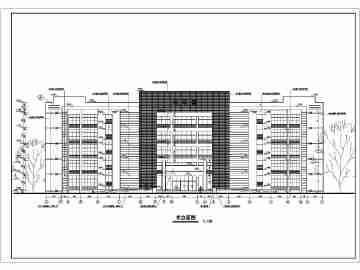 12班中学教学楼建筑图