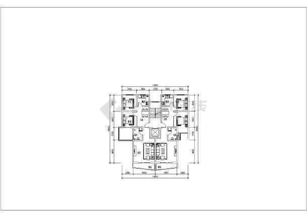 40个住宅户型图包括廉租房小户型