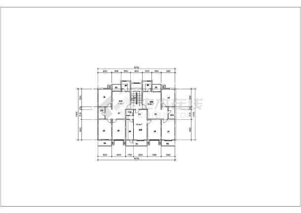 图纸内容包括多层8个,小高层8个,高层8个,塔楼8个,廉租房小户型8个.
