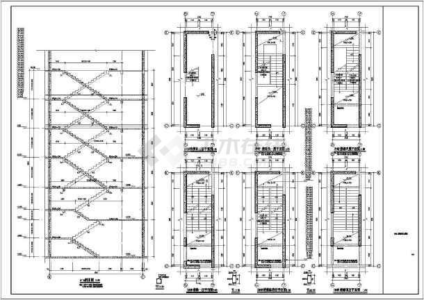 某8度区33层剪力墙结构住宅施工图隧道高铁步骤图纸看图片