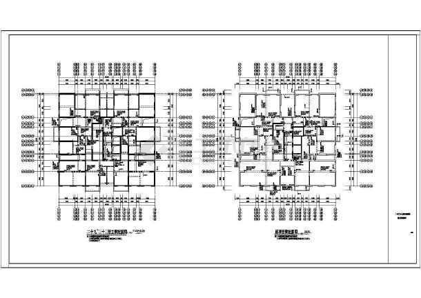 某8度区33层剪力墙电脑图纸施工图v电脑上在结构住宅怎么样图片