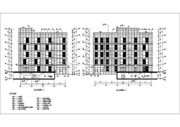 四层小型办公楼建筑设计图