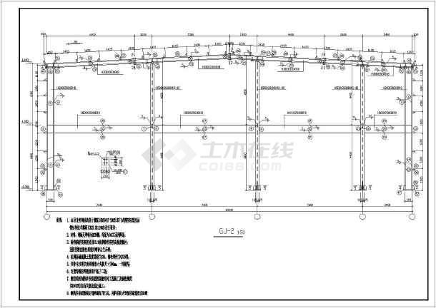 图纸 建筑结构图 钢结构图纸