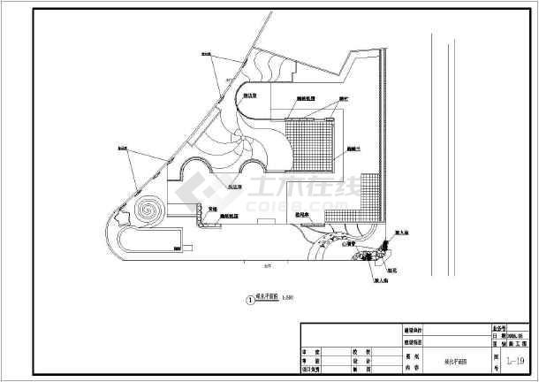 某幼儿园园林景观规划设计施工图纸