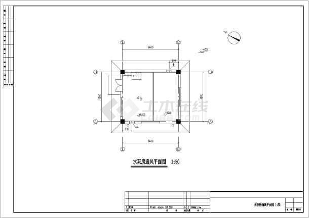 某三层冷库办公楼多联机空调系统暖通设计图