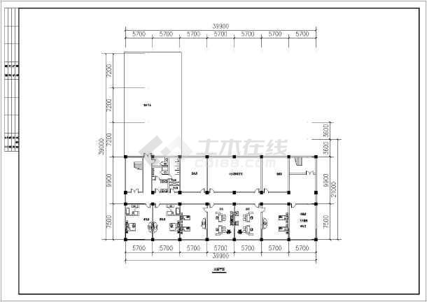 某地3层框架结构消防站建筑专业方案设计