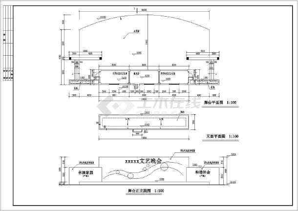 学校舞台设计图