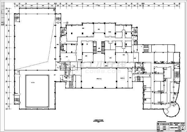 江苏某五星级二十三层框架结构酒给排水及消防工程图