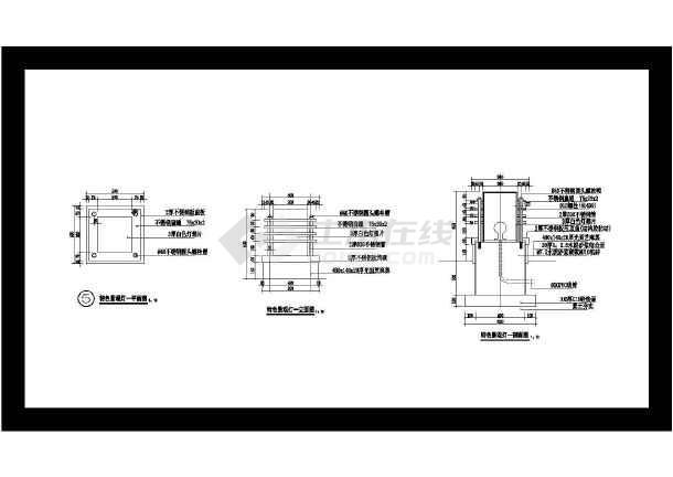 防腐木坐凳施工图树池坐凳施工图防腐木平台施工图