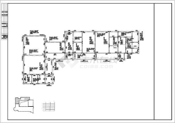 3000平米幼儿园结构全套