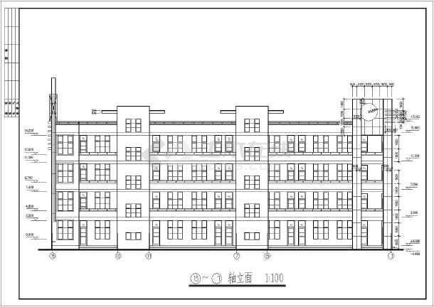 本图纸为某中学教学楼设计图,图纸内容包括:建筑设计说明,各层平面图图片