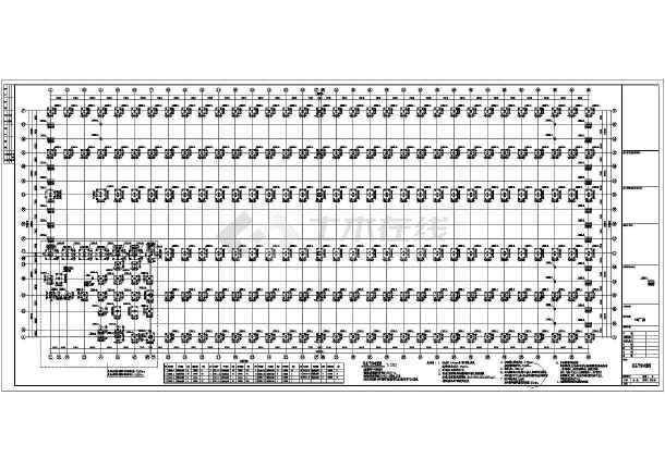 某吊车房子门式重型钢结构厂房建筑结构图_c图纸v吊车双层楼梯怎么做图片