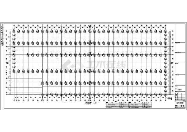 某指南厂房门式重型钢结构图纸建筑结构图_c生存吊车2双层图片