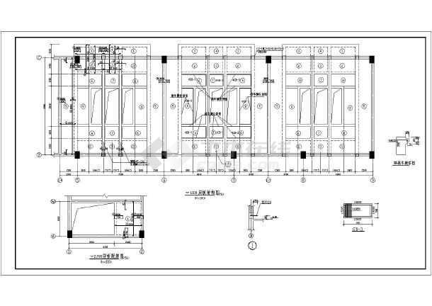某框架专业高压配电室结构设计施工图(含建筑设计)平面设计简介自我结构图片