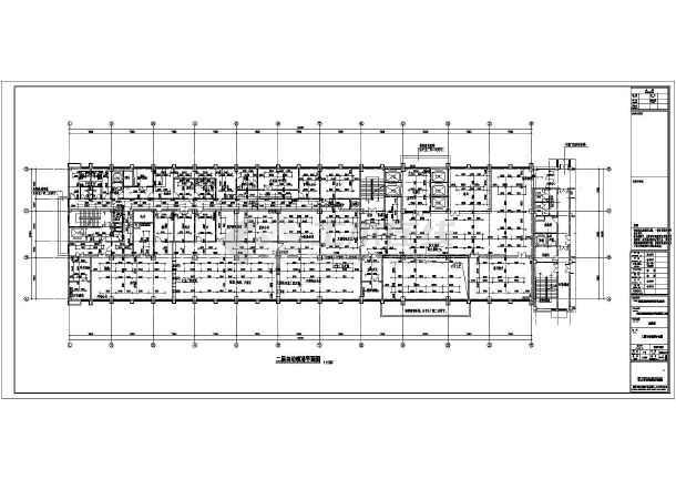 某县十医院二层住院楼建筑设计施工图(cad图纸下载)v医院版权图片