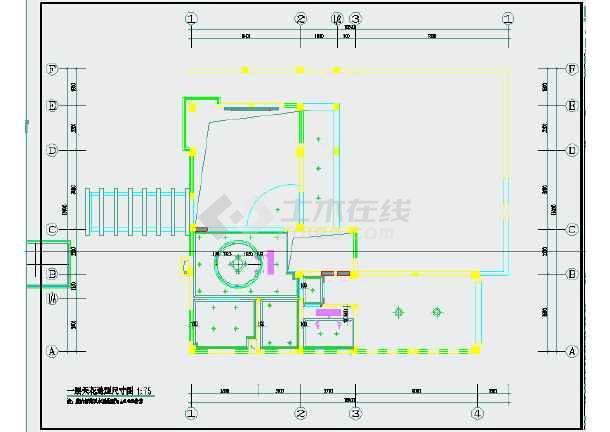 某4层别墅简欧风格精装修全套设计施工图_cad图纸下载