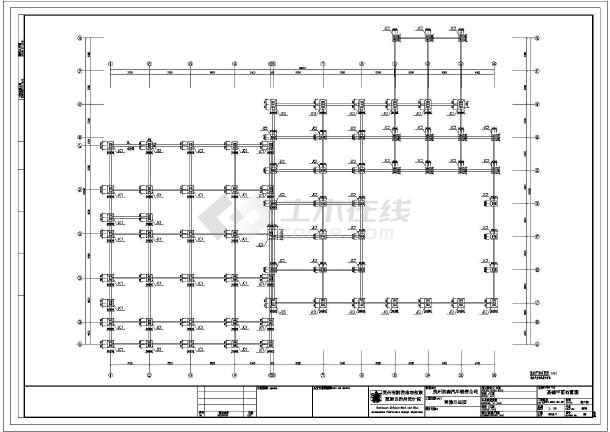 雪佛兰4s店门式钢架结构设计施工图