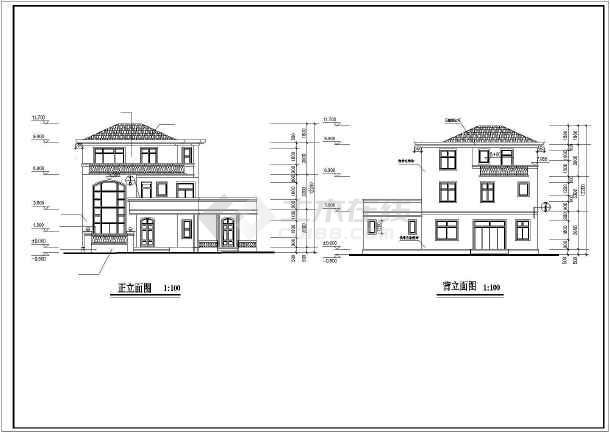农村房子别墅设计图