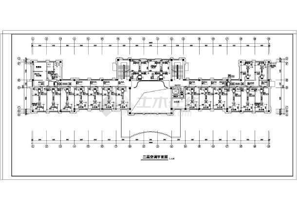 某地健身房空调系统工程设计平面图
