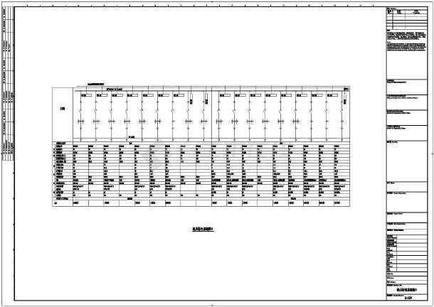 公共建筑 电站,变电所建筑电气设计施工图 某会馆项目10kv配电室电气
