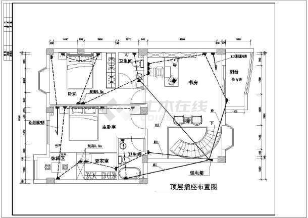某地区高层图纸楼装修设计施工图纸料复式夹所图片