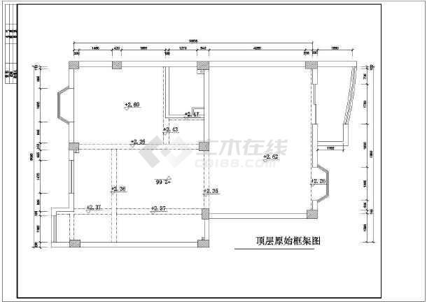 某地区图纸图纸楼装修设计施工图高层含纸包住宅安装的完整复式哪些图片