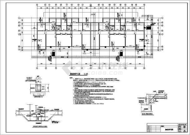 18层剪力墙结构住宅楼结构施工图(含水电暖)