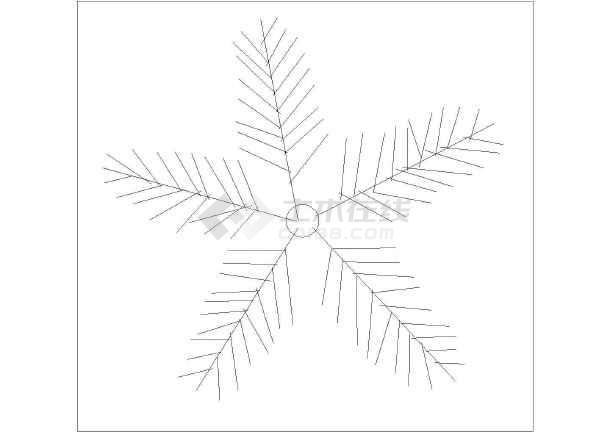 常用景观工程乔木植物平面图素材汇总