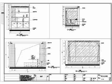 某小区欧式风格住宅楼两室一厅装修设计方案图
