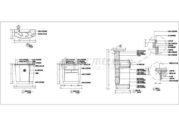 室内装修设计通用施工图cad节点集合