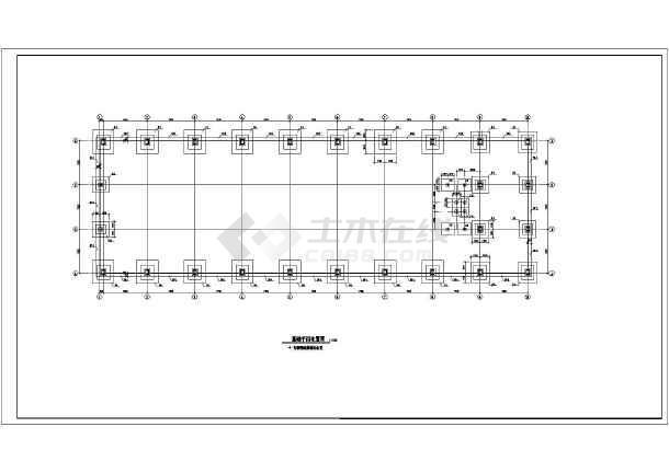 某单层钢结构门式刚架厂房(21m跨)施工图