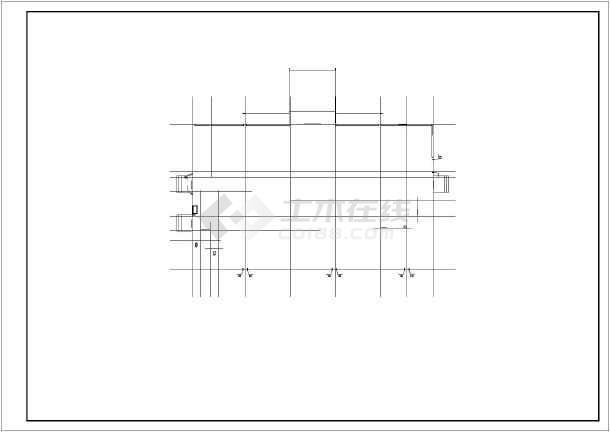 小型办公楼下载施工图(1500平米)_cad图纸下航天服装cad建筑图片