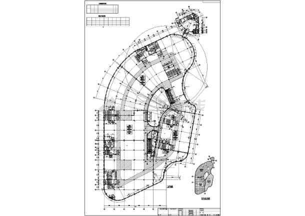 总平面图,地下一层平面图,平面图,立面图,楼梯详图,剖面图,卫生间详图