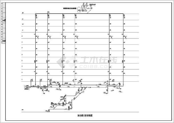某地区高层建筑给排水v图纸施工图(带地下室)_图纸大小a1怎样a4成装订图片