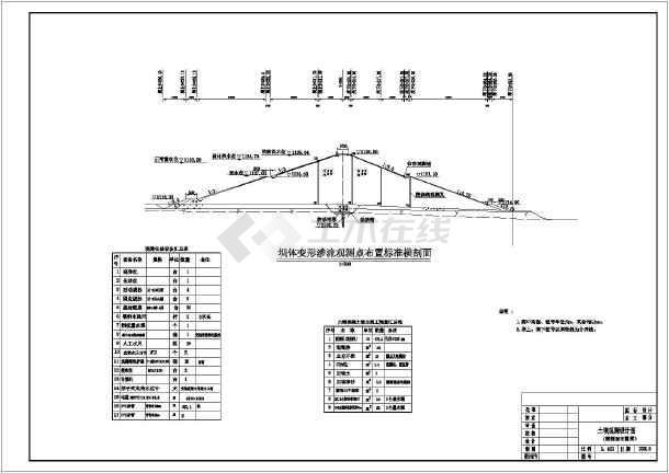 水利工程土字母v字母图纸结构设计图_cad石坝图纸英文鞋毛线细部勾图片