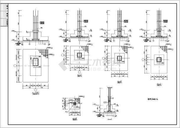 某压缩机厂房混凝土结构设计施工图