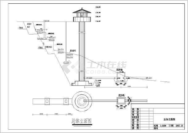 水塔水位控制梯形图_水塔水位控制梯形图大全免费