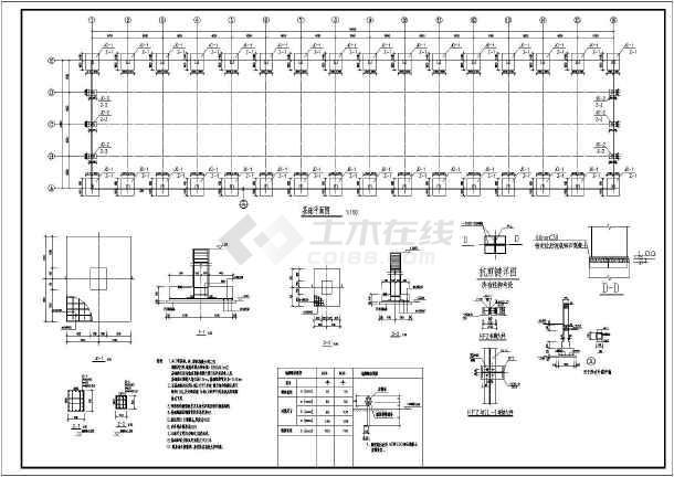 相关专题:钢结构节点详图 钢结构雨棚节点详图 钢结构节点构造详图