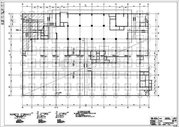 宜春某22大楼85.27m的政府性火车图纸设计图乐高层高拼装结构图片