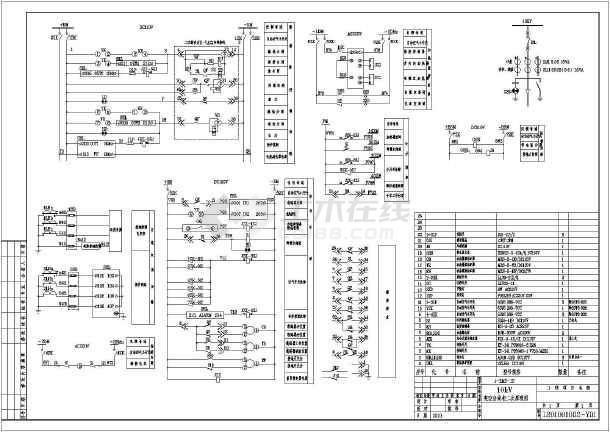 10kv架空线路设计图集