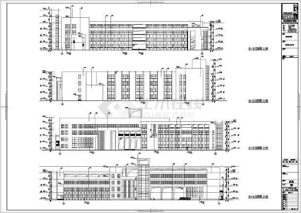 唐海县第二v结构结构4层小学版面教学楼建筑设关于名人的手抄报英语手抄报框架设计图图片