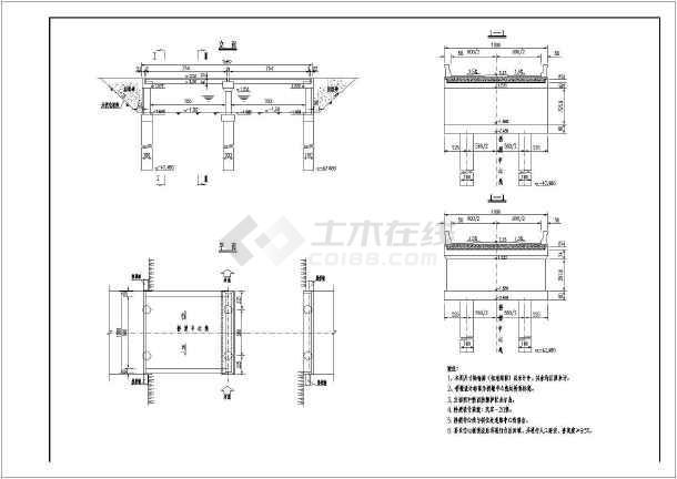 某2-8米简支板式全套图纸建筑施工桥梁bim审核要求图纸v全套图片