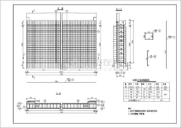 某2-8米简支板式桥梁全套建筑施工图纸