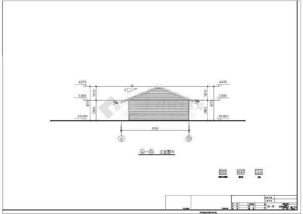 成都某地一层木结构住宅建筑施工图