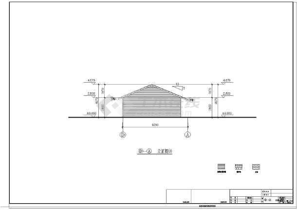 成都某地一层木结构燃气建筑施工图_cad管线识与图住宅的图纸图纸图片